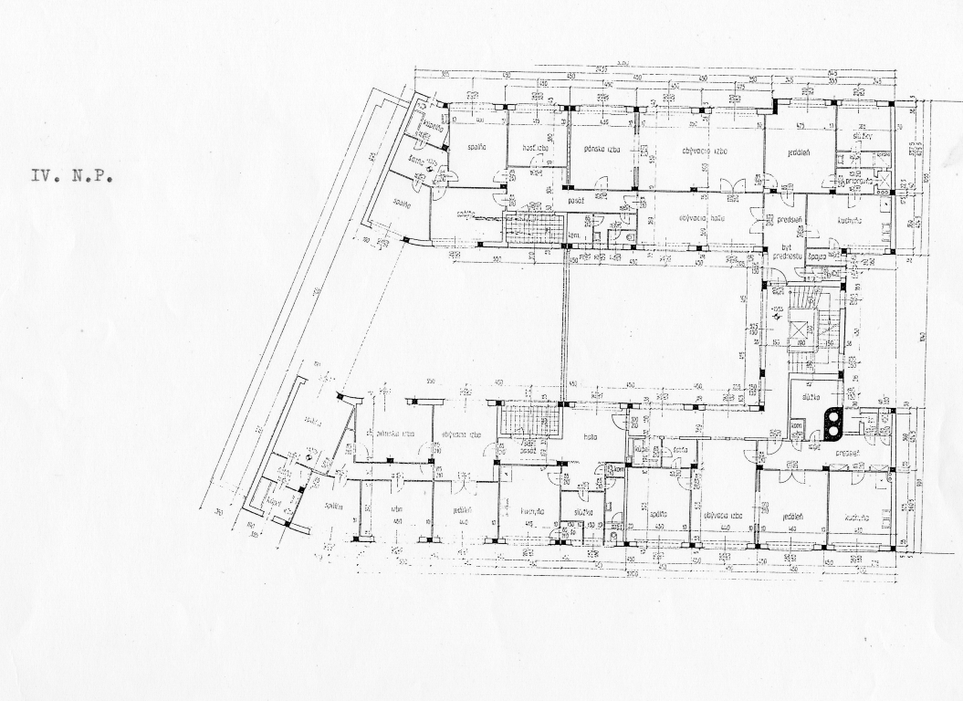 National Bank – proposed floor-plan 4.