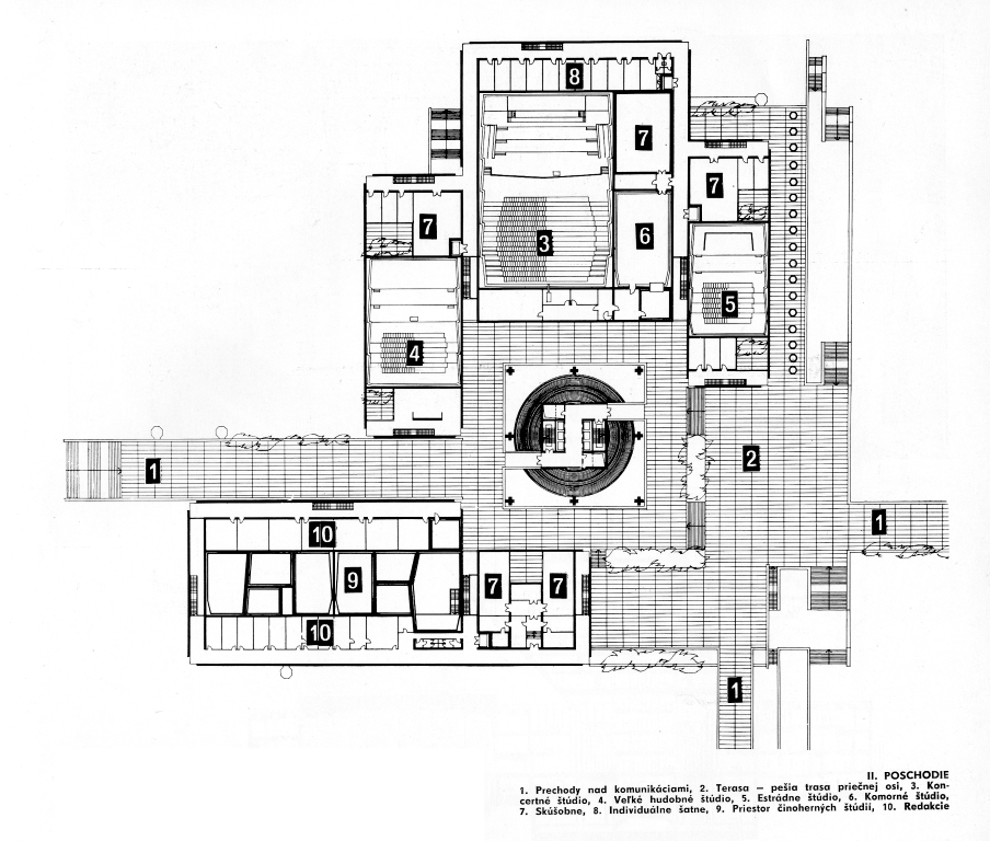 Slovak Radio – proposed floor-plan - 3.